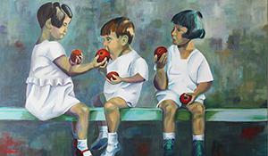 Apfelkinder