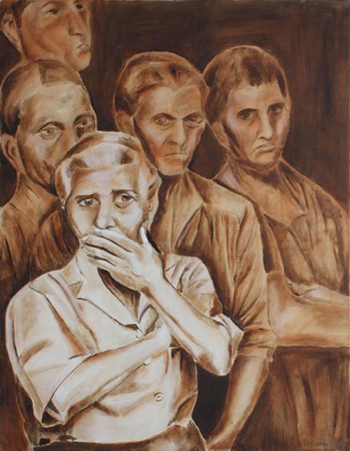 Sizilianische Witwen Sepia
