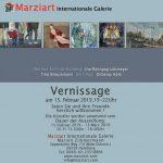 Vernissage in der Galerie Marziart